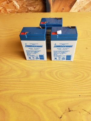 6-Volt 4.5 Amp Rechargeable Battery for Sale in Dearborn, MI