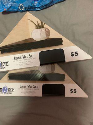 Corner wall shelves for Sale in Pasadena, TX