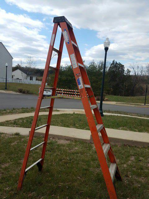 2 Warner 8' Ladders