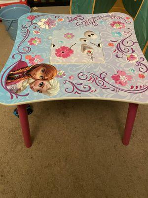 Kids frozen table for Sale in Long Beach, CA