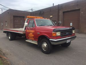 1989 Ford F450 slide back tow truck for Sale in Mentor, OH