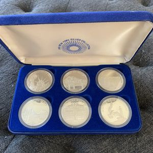 1981 New York Silver Coin Collection 3/4 troy OZ - Full Collection for Sale in Culver City, CA