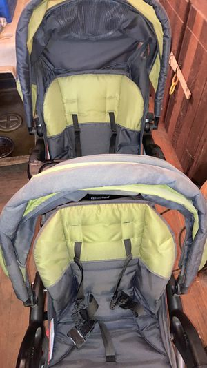 Babytrend double stroller for Sale in Millstone, NJ