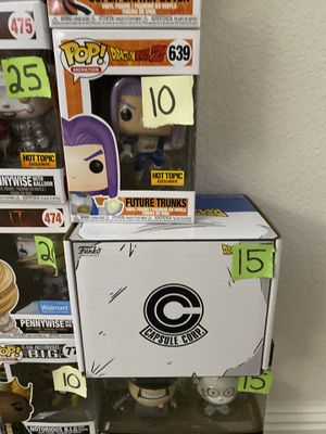 Trunks exclusive hot topic mystery box Funko pop for Sale in Tustin, CA