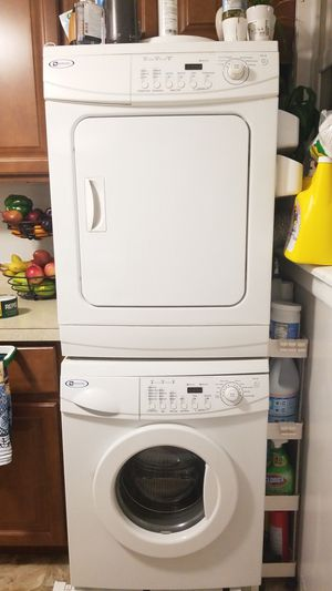 Maytag stackable washer and dryer for Sale in Dedham, MA