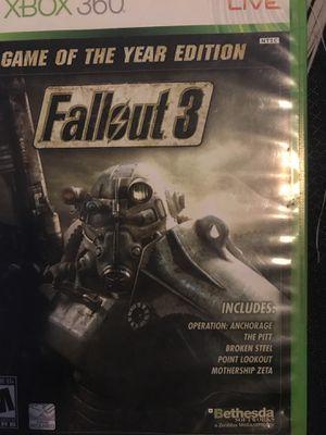 Fallout 3 for Sale in Tempe, AZ