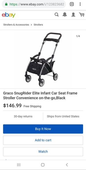 Graco Snugrider Elite Infant Car Seat Frame for Sale in Oklahoma City, OK