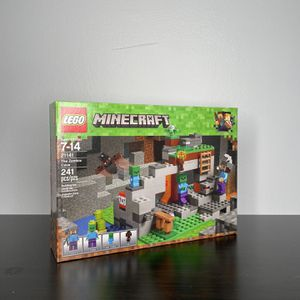 LEGO The Zombie Cave Minecraft (21141) for Sale in Reisterstown, MD