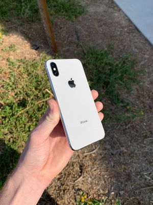 iPhone X 64gb AT&T for Sale in Riverside, CA