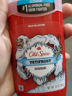 Old Spice Deodorant Yetifrost Scent for Sale in Belleview,  FL
