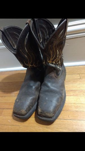 Ariat steel toed boots for Sale in Quincy, IL