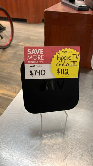 Apple TV Gen III for Sale in Chicago, IL