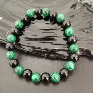 Brand New, Beautiful Malachite Stone And Black Onyx Bracelets. Men And Women Sizes Available. Jewelry Bag Included. Great Valentines Day Gift. for Sale in Rancho Cucamonga, CA