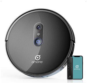 amarey A980 Robot Vacuum, Smart Robotic Vacuum Cleaner-Wi-Fi Connected Mapping, Self-Charging, Slim and Quiet, Works with Alexa, Ideal for Pet Hair, for Sale in ROWLAND HGHTS, CA
