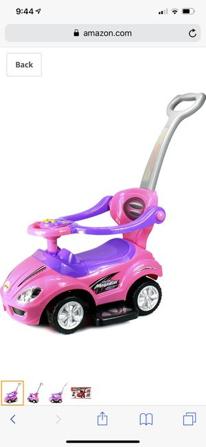 Deluxe Mega Car Girls Push And Ride Toy for Sale in Coppell, TX