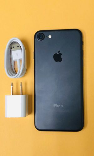 iPhone 7 Unlocked with a 30 Day WARRANTY! Check-out profile for prices of other phones like iPhone 6 6S Plus 7 7 Plus 8 Plus. PLEASE READ THE AD for Sale in Los Angeles, CA