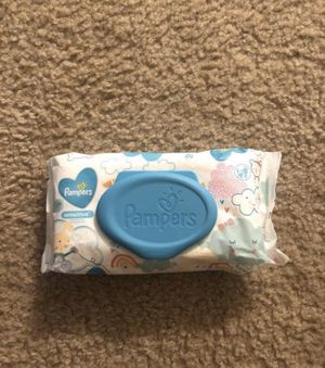 Pampers Baby Wipes Sensitive 56 ct. for Sale in Chesapeake, VA