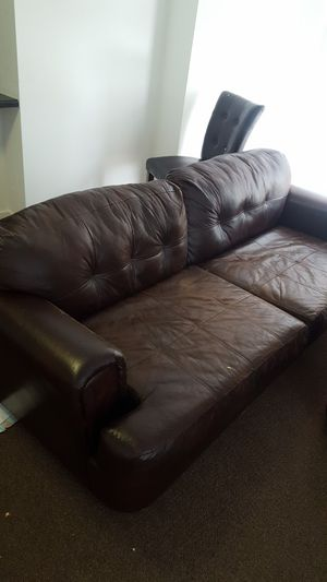 Leather Sofa Set for Sale in Chicago, IL