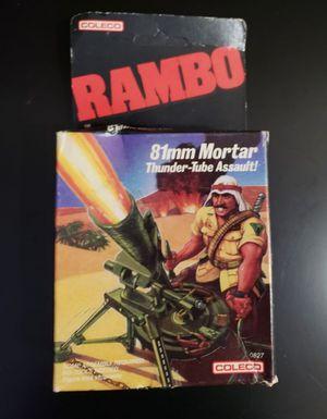 Rambo 81mm Mortar Thunder Tube Assault 0827 Coleco NIB for Sale in Pembroke Pines, FL