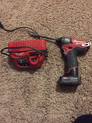 Milwaukee impact drill for Sale in Sicklerville, NJ