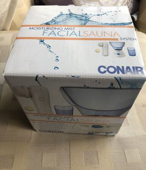 Conair Facial Sauna Face Steamer Moisturizing Mist System for Sale in Torrance, CA