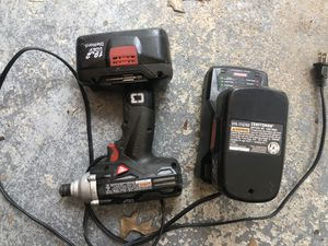 Craftsman Impact Drill w/batteries/charger Batteries will not charge for Sale in Lexington, KY