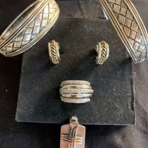 New Set Of Bracelets, Earrings, Pendant and Ring for Sale in Hollywood, FL