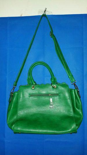 Sondra Roberts SR2 Leather Handbag Green for Sale in Atlanta, GA