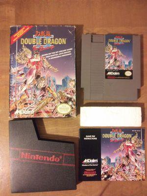 Double Dragon II The Revenge NES for Sale in Santa Ana, CA