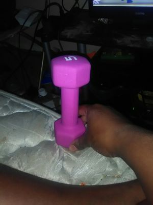 Pink 5lb weight for Sale in Longview, TX
