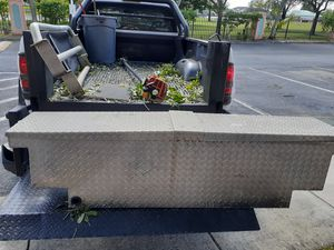 Diamond plate tool box for Sale in Fort Lauderdale, FL