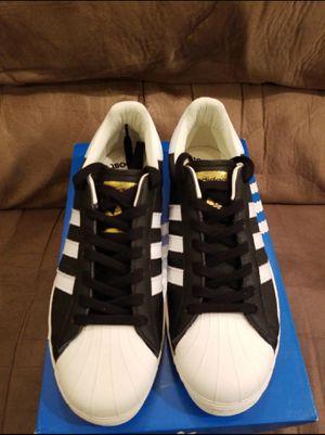 Adidas Originals Superstar w/Boost Black/White/Gold for Sale in HUNTINGTN BCH, CA