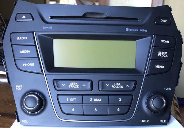 13-14 Hyundai Santa Fe Sport Auto Parts Audio OEM Assembly CD MP3 Satellite Radio