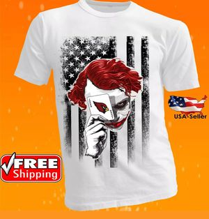 Arizona Cardinals NFL Team Football Men Tee Jersey Shirt Joker New for Sale in Hollywood, FL