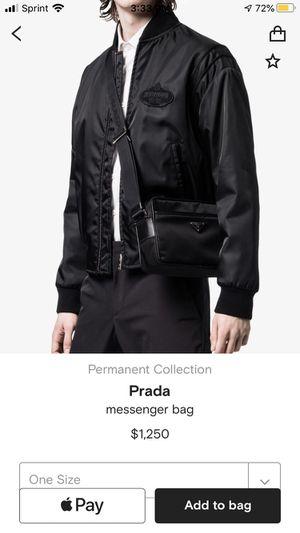 Prada messenger bag for Sale in Chicago, IL