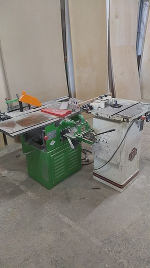3 in one machine table saw,joiner ,planer and shaper for Sale in Kearns, UT