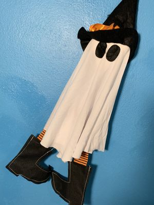 LOT OF TWO HALLOWEEN DOLLS GHOST DECORATIONS COSTUMES CUTE for Sale in Miami, FL