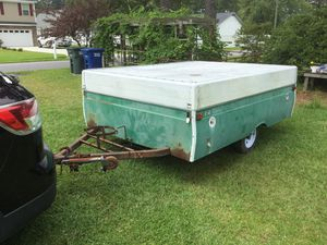 1974 Coleman pop up camper 1-1/8 ball for trailer hitch for Sale in Ayden, NC