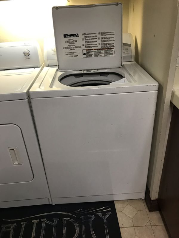 Washer & Dryer (Electric)