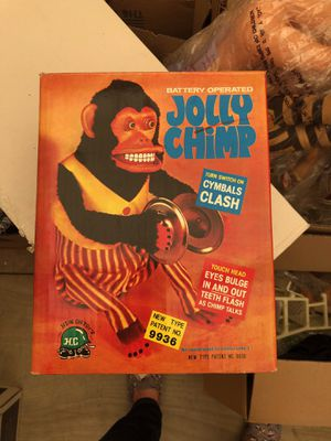 Vintage Jolly Chimp Toy for Sale in Rancho Cucamonga, CA