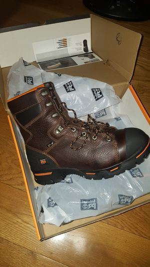 Brand New Timberland pro steel toe work boots size 10 1/2 for Sale in Brooklyn, NY