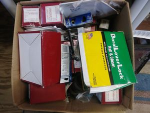 Interior door handles and light switches full box for Sale in Berkeley Springs, WV