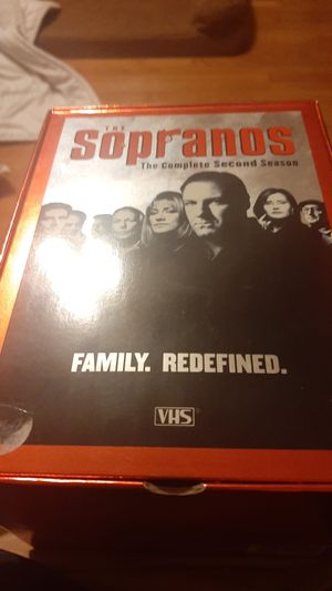 Sopranos vhs for Sale in Waterbury, CT