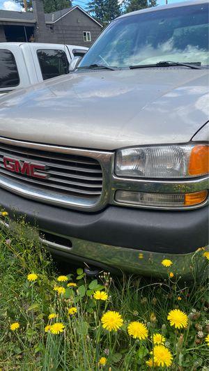 2001 gmc 2500 parts for Sale in Tacoma, WA