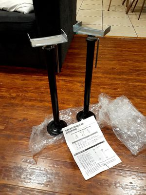 Rv slide out stabilizer jacks 21in-37in travel trailer camper Jack stands 2 piece set for Sale in City of Industry, CA