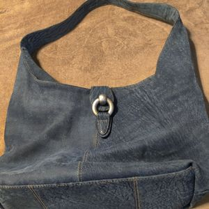 Gorgeous Lorenzo Blue Suede Leather Hobo Bag Purse for Sale in Chandler, AZ