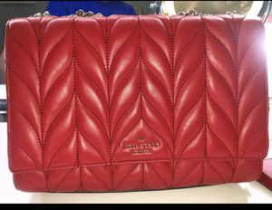 Authentic Kate Spade Red Purse for Sale in Camby, IN