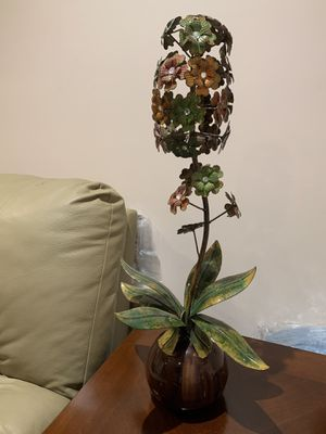 Metal Flower Decor $20 OBO for Sale in Fairfax, VA
