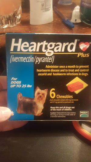 Heartgard for Dogs up to 25 lbs for Sale in Camden Wyoming, DE