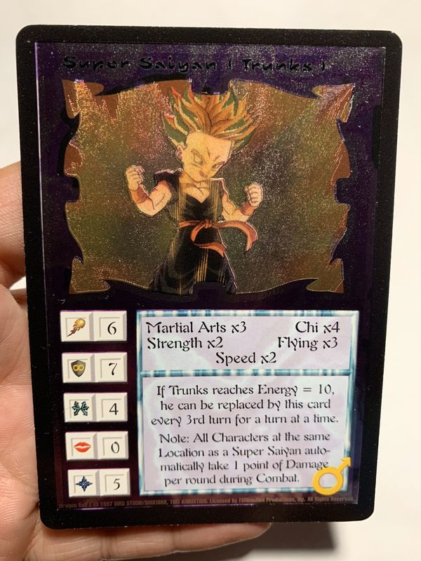 Ani-Mayhem Dragon Ball Z DBZ rare Trading cards